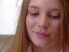 Pretty Teen Aurora Snow: University Coed