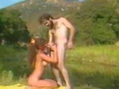 Aja Having Hot Outdoor Sex