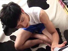 Twink les amateurs asiatiques asiatiques en train de faire un dick HD