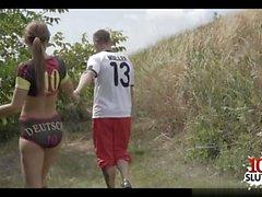 German pornstar blowjob and cumshot