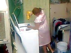 Espionnage Neighbour - Ass adulte à laver - fesses Japonaises Voyeur