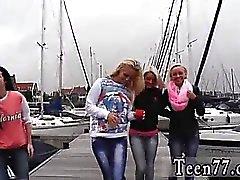 Stor röv blond Doggystyle En nasty boat trip