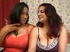 Hot Danica & her sexy BBW girlfriend