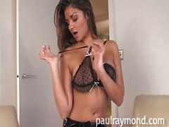 Krystall Webb teases and plays