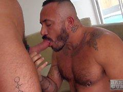 Beefy daddy Alessio Romero breeds Alex Mason