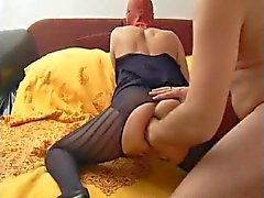 Red Mask Rachel - Moaning Anal Fist