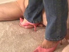 Pointy Pink Heels CBT