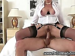 Lady Sonia fucked and facialized