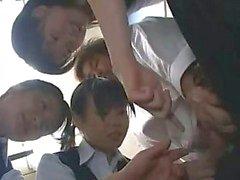 Japon CFNM HJ - Sansürlü