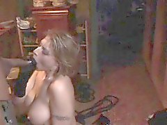 White slut bound and ass fucked