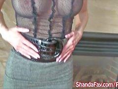 Kinky Canadian MILF Shanda Fay Wants To Suck You Off!