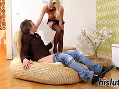 Zuzana simply loves pleasuring a big dick