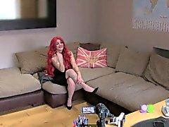 FakeAgentUK Casting couch amateur gets creampied