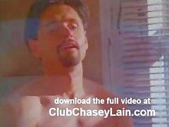Chasey Lain teases a voyeur
