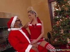 Плохой Santa Шейна Дизель трахает Таннера Mayes
