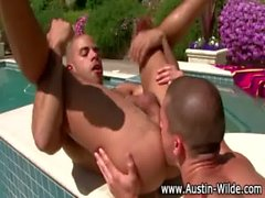 Austin Wilde takes bottom and gets fucked