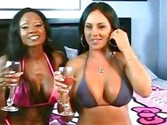 Black slut Diamond Jackson big tits ass fucking squirting superfreak!