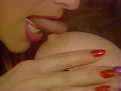 British slut Vida Garman uses her strap-on again