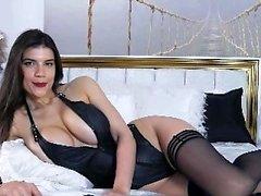 Jalka fetissi ja sukkahousut porno