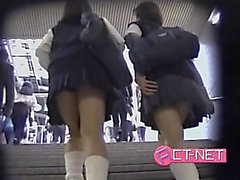 Sexy upskirt movie with awesome Oriental darlings