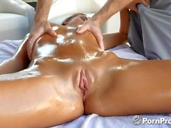 PORNPROS Oiled up outdoor massage fuck and facial with Jill Kassidy