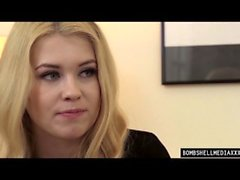 BOMBSHELL MEDIA XXX FILMS In the office WITH MISHA CROSS AND RENATO