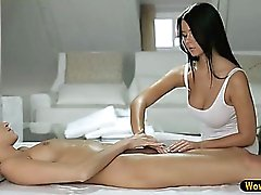 Super hot and erotic lesbian sex with gorgeous Silvie and