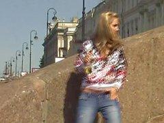 WIP outdoor pee in jeans 44