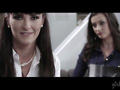 Bianca Breeze e il della Georgia Jones al GirlsWay