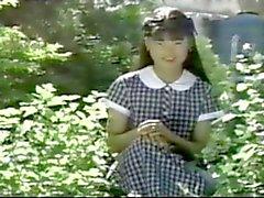 Vintage de fotos al aire libre japonesa