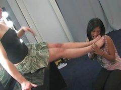 Lesbische Fu Anbetung