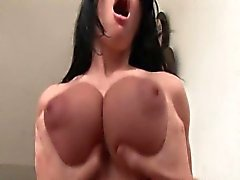 Busty and tanned Rebecca Linares gets rammed hard