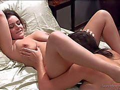 Big titted pussy lickers Natasha Nice and Raylene