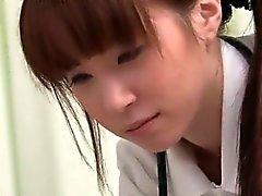 Vea cómo esta imagen Enfermera de asiático se deja part6 muy caliente