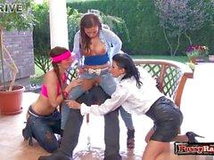 Ex girlfriend spanking