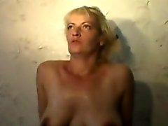 Dirty Slut housewife Olga does everything
