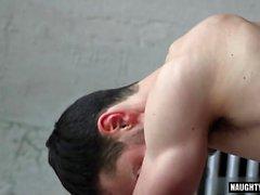 Big Dick Homosexuell Flip mit abspritzen Flop
