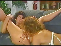 Retro lesbians licking and sucking cunts