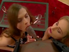 Black on White 3 - Scene 1 - DDF Productions
