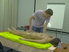 Squirt massage lesson