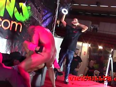 Ena Sweet, John Barea y Miguel Zayas con espontaneo follando