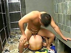 Homosexuell Latinos Mann Intensives BAREBACK Titel Sex