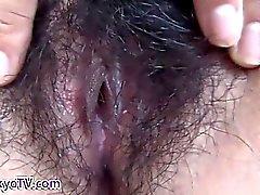 Asia putillas coño de cerca