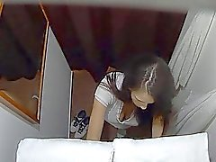 Checo Sala de Massagem do sexo intensivo com adolescente Brunett