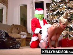 KELLY MADISON - The Grinch Stole Wer Clitmas