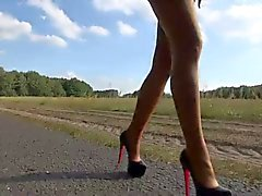 LGH - German Tamia - Public Nylons High Heels Sneakers