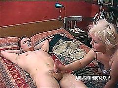 Boy Finds Mom Masterbating