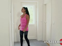 HITZEFREI Tatjana Young ass fucked by a young stud