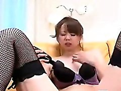 Amateur japonais Fille masturber