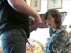 Guy bangs hot busty cutie